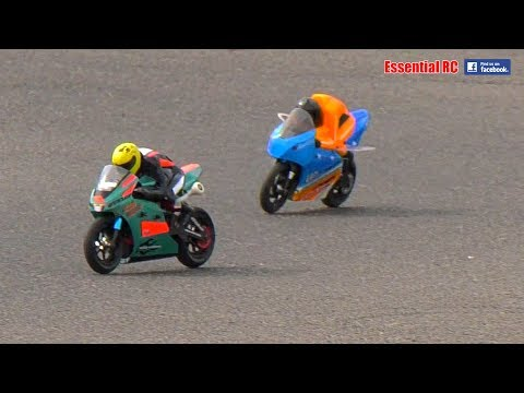 RACING (& SOME CRASHES\COLLISIONS) HobbyKing HKM-390 RC BIKES RTR: Cotswold MCC