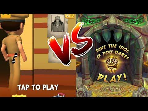 Little Singham| Temple run 2| little Singham vs temple run 2|| gameplay for kids ||