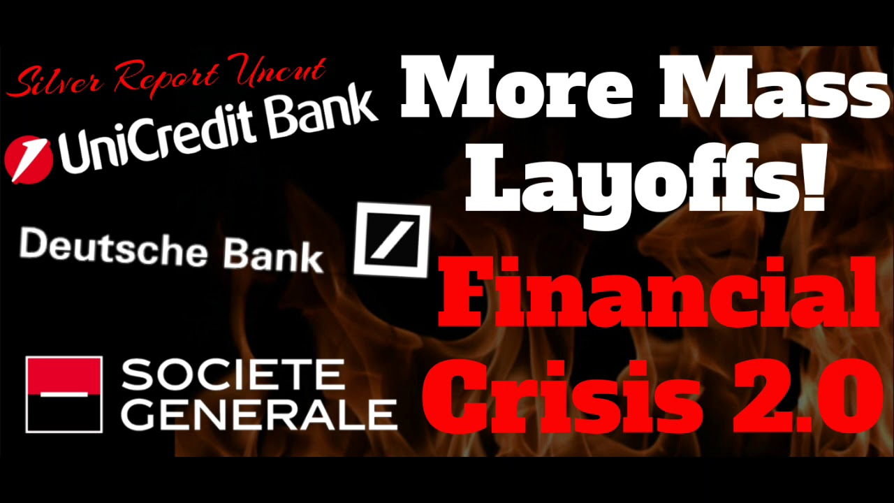 Mass Layoffs at Major Banks as Financial Crisis Heats Up ~ Intel