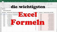 Excel Formeln und Funktionen: Sverweis, Wenn-Dann-Sonst, Summewenn, Zählenwenn & Anzahl2 [Grundkurs]