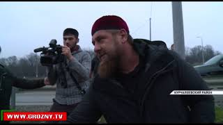 Рамзан Кадыров оценил улучшение магистральных водопроводов в Курчалоевском и Гудермесском районах