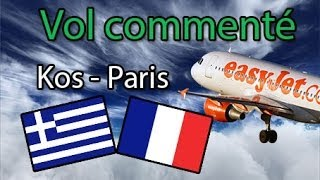Vol commenté Kos-Paris Orly A320 Airbus X Extended | Cold and Dark - Flight Simulator X - FSX - IVAO