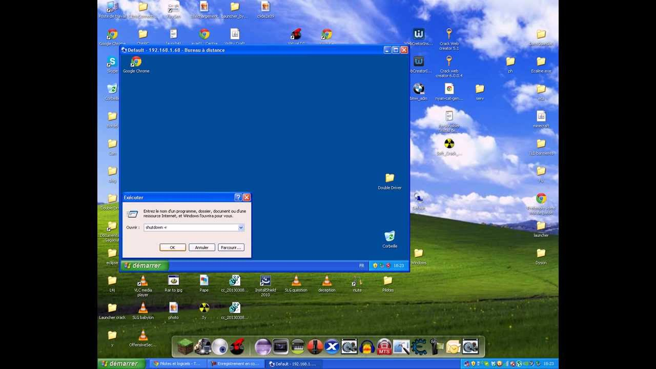 Bureau a distance sur windows xp vista 7 8 youtube for Bureau youtube
