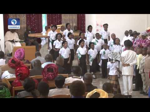 Thanksgiving Service Of  President Jonathan At Aso Rock Chapel Pt 1