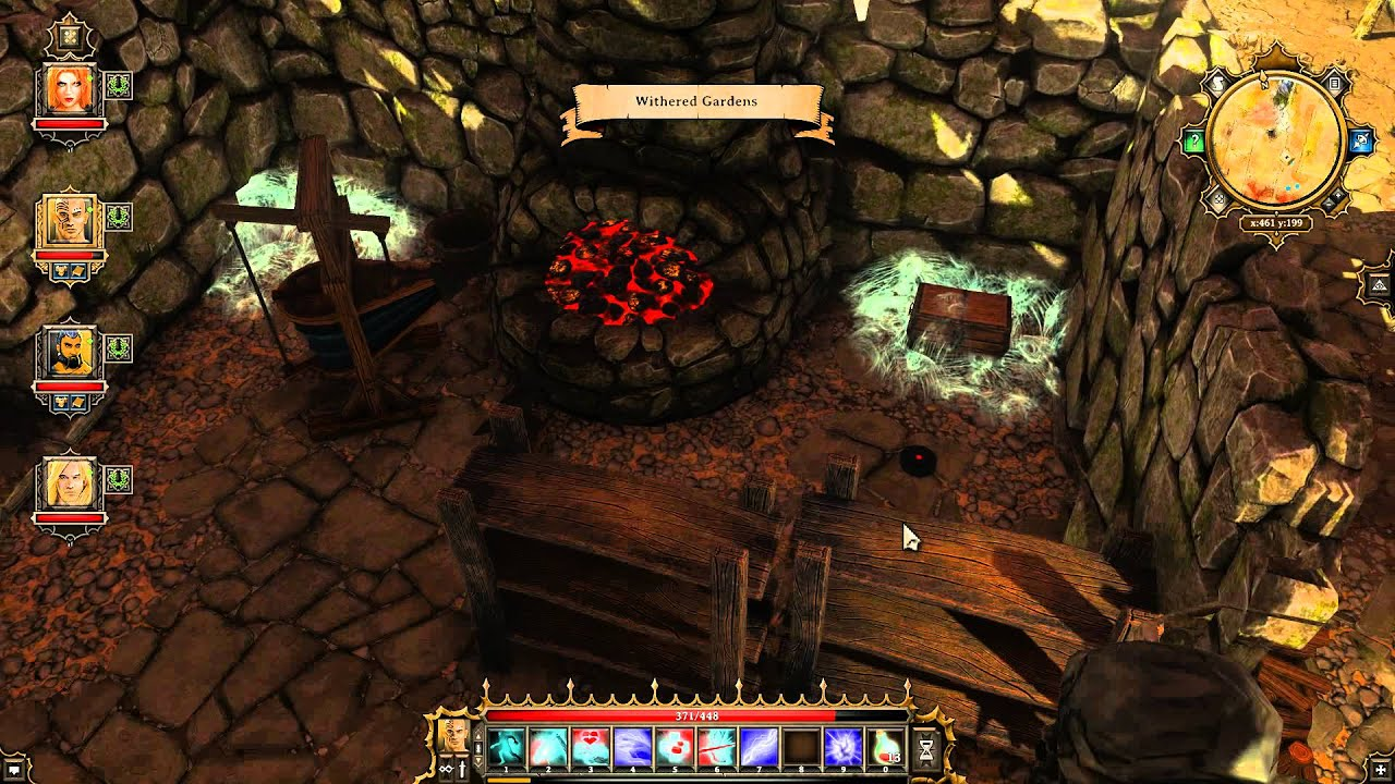 how to make characters flee in divinity original sin
