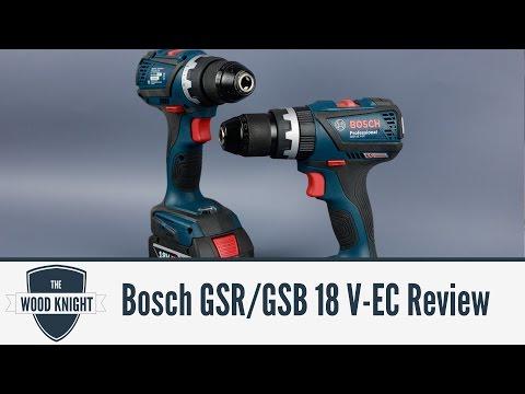 Bosch GSB/GSR V-EC 18v drill review