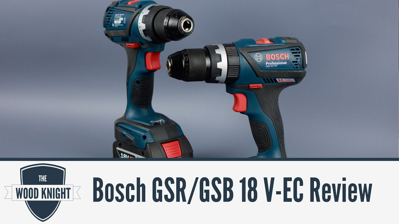 bosch gsb gsr v ec 18v drill review youtube. Black Bedroom Furniture Sets. Home Design Ideas