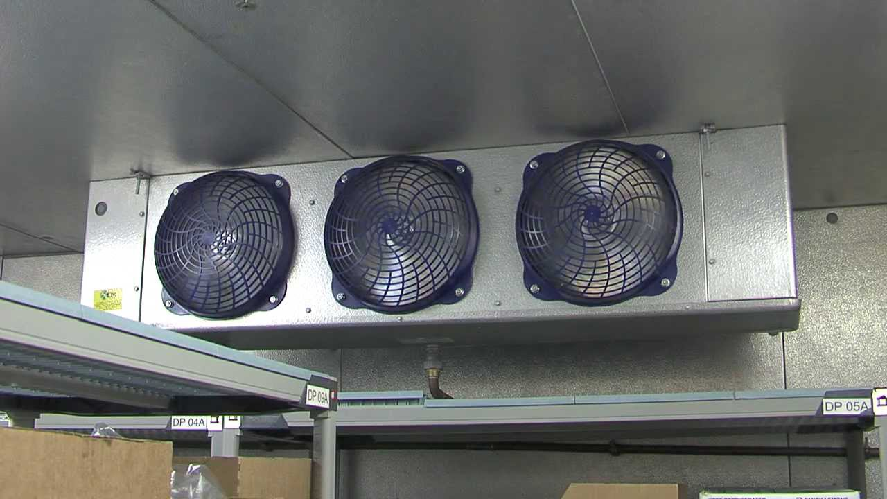 Install Energy Efficient Evaporator Fan Motors Walk In