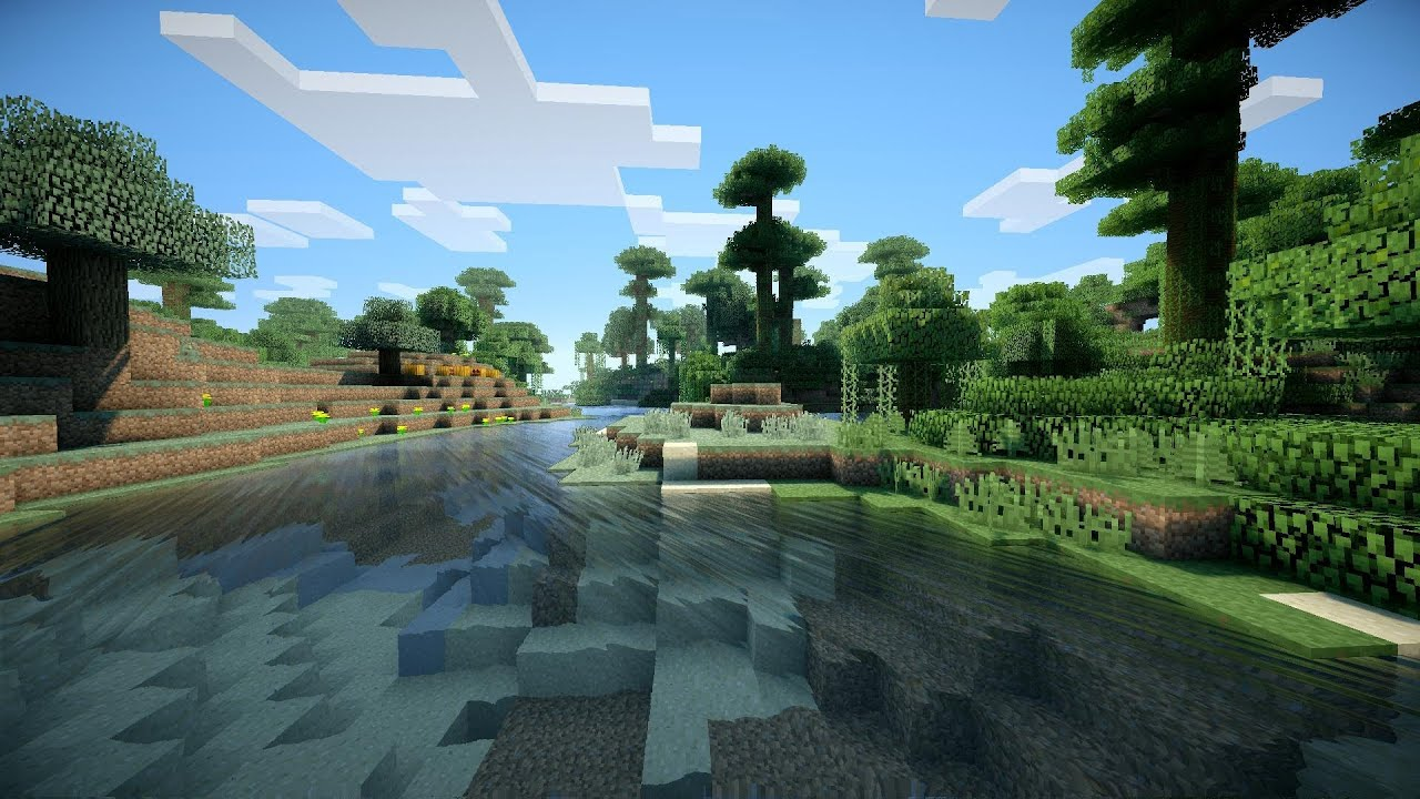 high definition minecraft mod shaders preview youtube