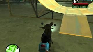 GTASA saut en scooter