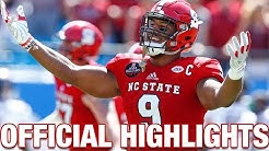 Bradley Chubb Official Highlights | NC State DE