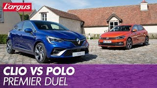 Renault Clio 5 vs Volkswagen Polo : le match statique !