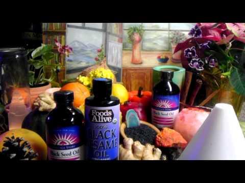 ~Miraculous Black (Cumin) Seed Oil Properties ~ Healing Benefits~Longevity Elixir  Nigella Sativa~