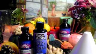 ~Miraculous Black (Cumin) Seed Oil Properties ~ Healing Benefits~Longevity Elixir  Nigella Sativa~