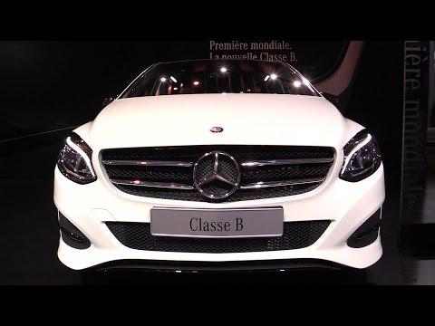 2015 Mercedes-Benz B-Class B180 CDI Diesel - Exterior and Interior Walkaround - 2014 Paris Auto show