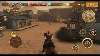 West Gunfighter (by Candy Mobile) - action game for android - gameplay.
