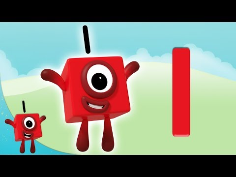 Numberblocks - The Number 1 | Learn to Count | Learning Blocks