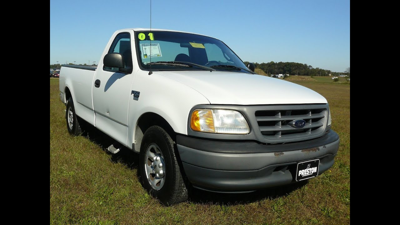 used ford maryland 2001 ford f150 xl v8 work truck youtube. Black Bedroom Furniture Sets. Home Design Ideas