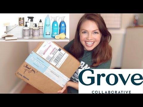 Unboxing Eco-Friendly Products For HOME - Grove Collaborative