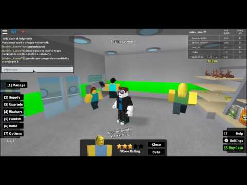 como jugar retail tycoon 1.1.3 Roblox |BY-Andres #1 - YouTube
