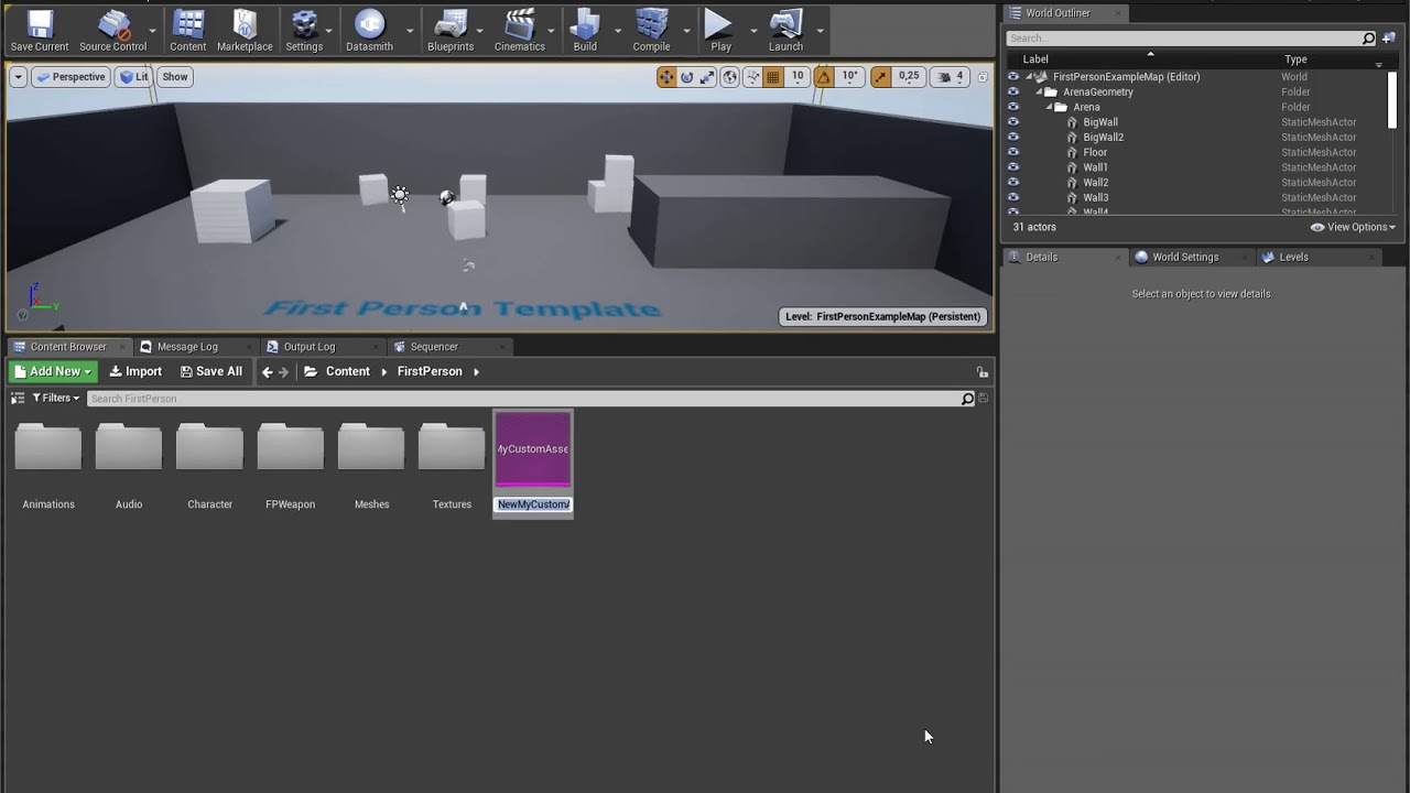 Cairan Steverink | Writing a Custom Asset Editor for Unreal