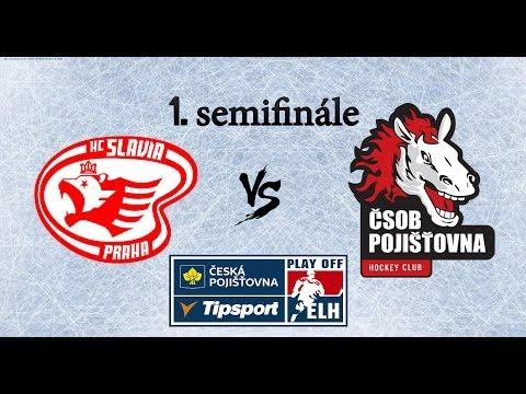 NHL 14 | Slavia - Pardubice | 1.SF PLAY OFF | CZ/SK