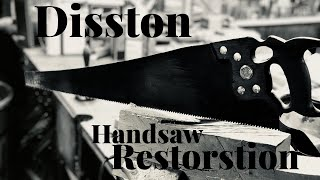 Rusty Old Saw Restoration | Cross Cut Saw Restoration | Tool Restoration