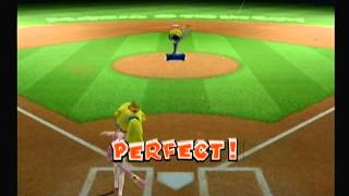Mario Superstar Baseball: Bob-Omb Derby - 9619 Pts w/ Peach