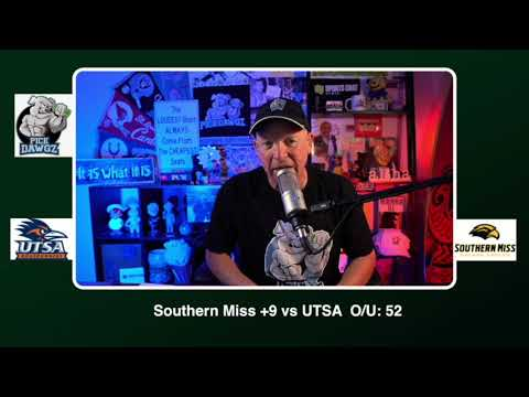 Southern Miss vs UTSA 11/21/20 Free College Football Picks and Predictions CFB Tips Pick Dawgz