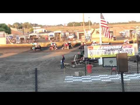 Lemoore Raceway 8/10/19 Jr Sprint Heat- Ty