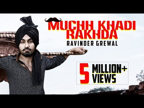 Muchh Khadi Rakhda | Ravinder Grewal | DJ Flow | Latest Punjabi Songs | Tedi Pag Records