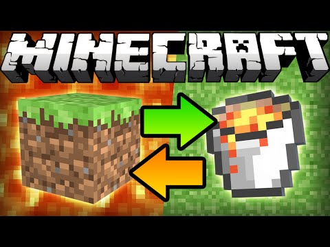 Thumbnail: If Lava and Grass Switched Places - Minecraft