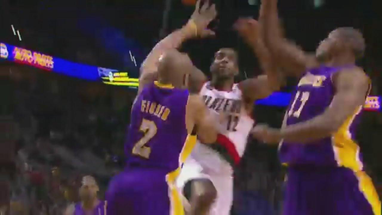 Download LaMarcus Aldridge 29 Points 4 Ast Vs. Lakers, 2010-11.