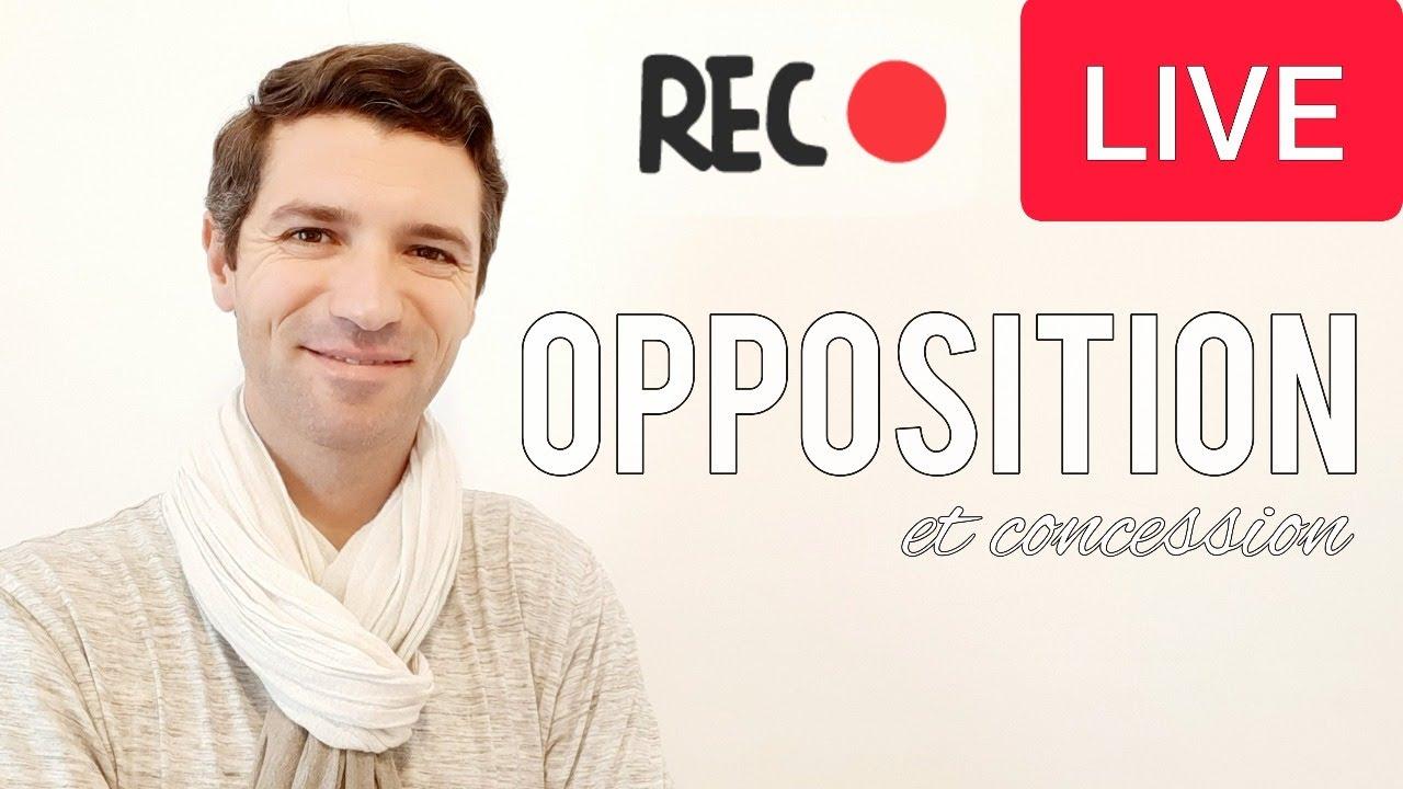Download Cours de français - Exprimer l'opposition et la concession B1/B2
