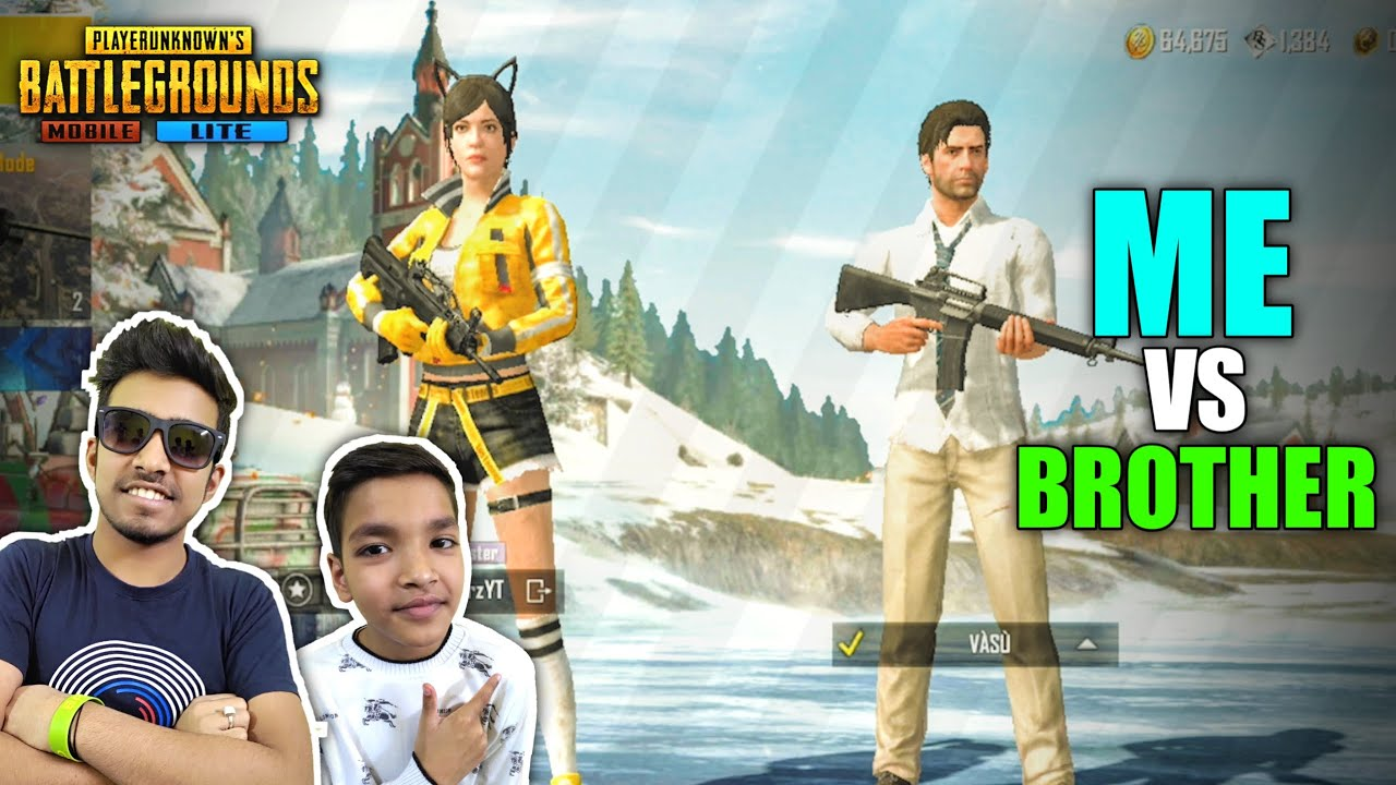 MY BROTHER CHALLENGED ME IN PUBG MOBILE LITE