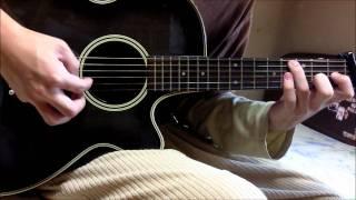祝福のカンパネラ OP - シアワセは月より高く ギター I love this song,...