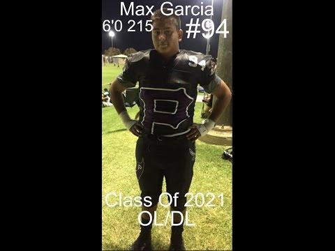 Max Garcia 8th Grade Highlights Class Of 2021 OL/DL