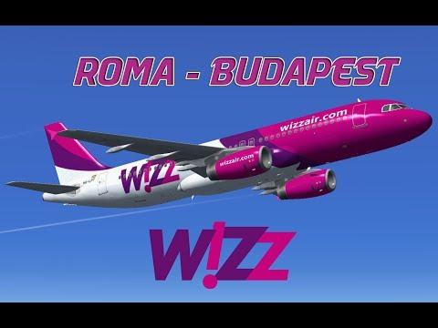 Roma-Budapest|P3Dv4|A320|Wizz Air