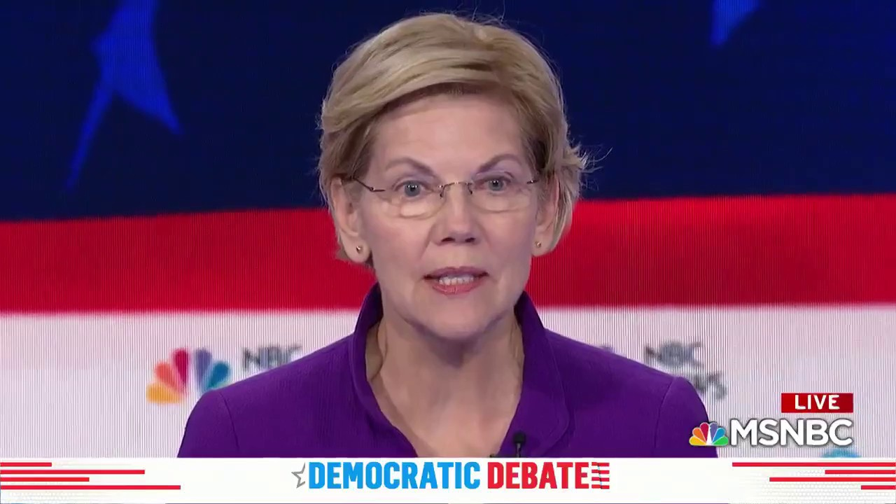 Sen. Warren Dodges On Late Term Abortion