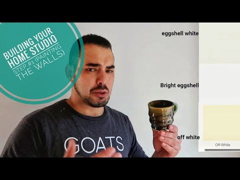How To Build Your Ceramic Studio Part #1 (Painting The Walls)