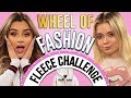 FLEECE CHALLENGE?! Wheel of Fashion w/ Aidette Cancino & Neriah Fisher