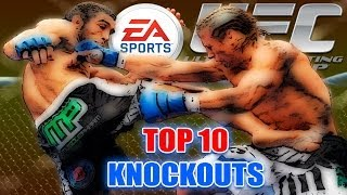 EA SPORTS UFC - TOP 10 KNOCKOUTS #2