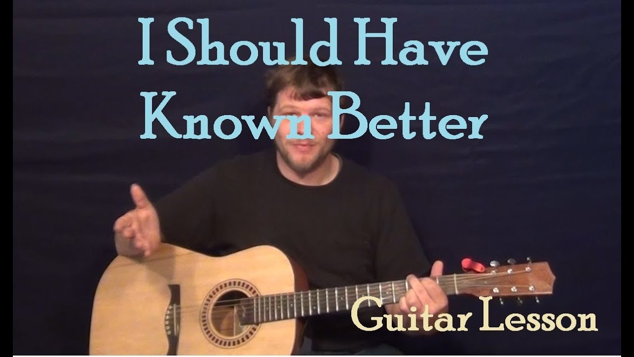 I Should Have Known Better The Beatles Easy Guitar Lesson How To