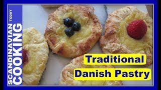 How To Make Easy Danish Pastry with Custard Filling