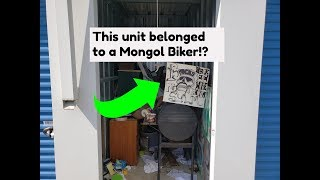 I bought a Storage unit that was owned by a Biker Gang!?