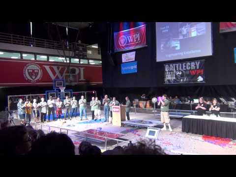 BattleCry@WPI 13 - Awards Ceremony