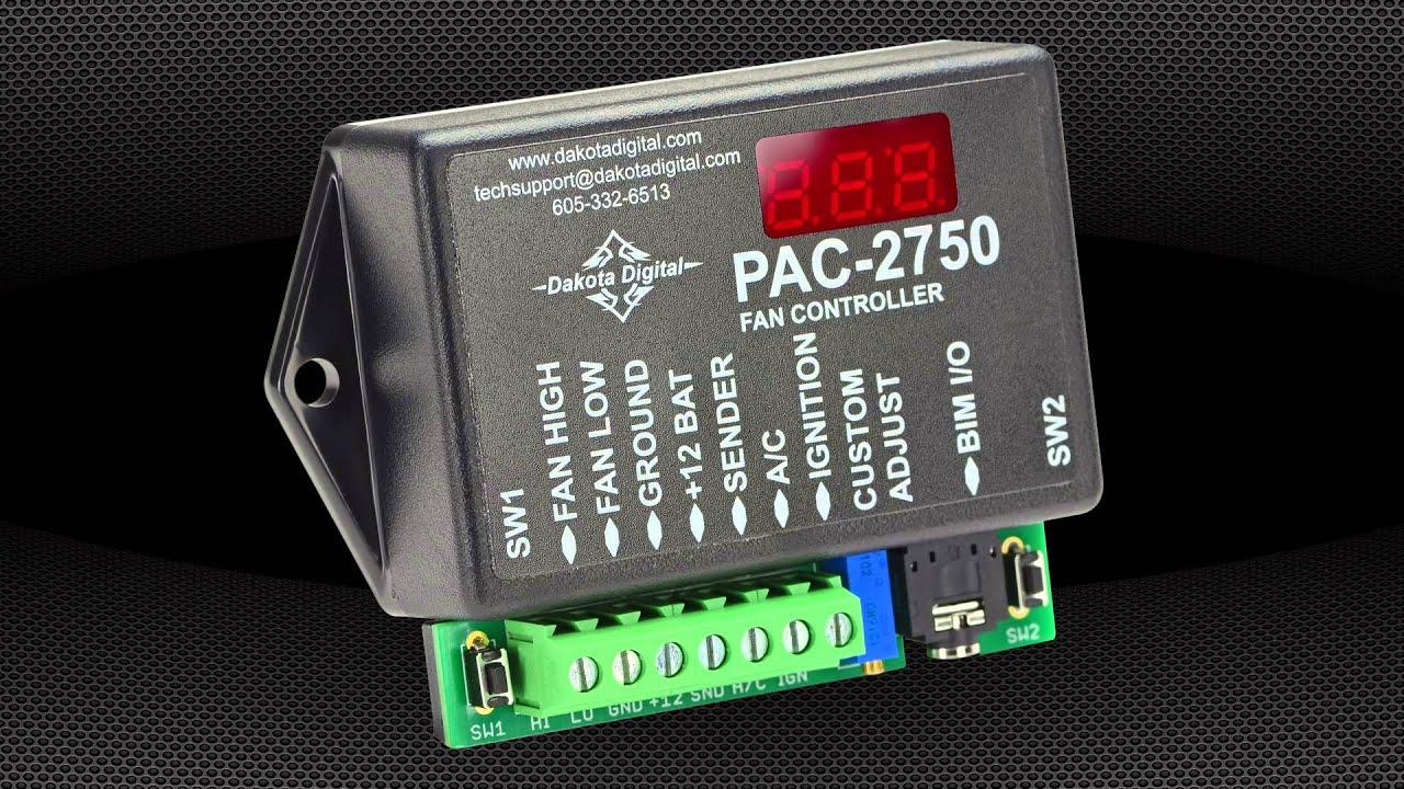 Controller Circuit Diagram On Dakota Digital Fan Controller ... on
