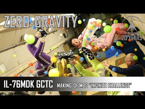 MBC Infinite Challenge - Making a TV show in Zero-G