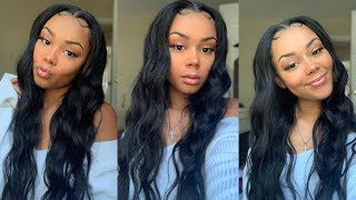 The Most Soft Beach Wave Tutorial | Allove Hair on Aliexpress