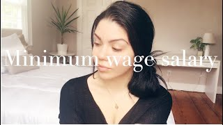 HOW I MANAGE TO LIVE COMFORTABLE MAKING MINIMUM WAGE